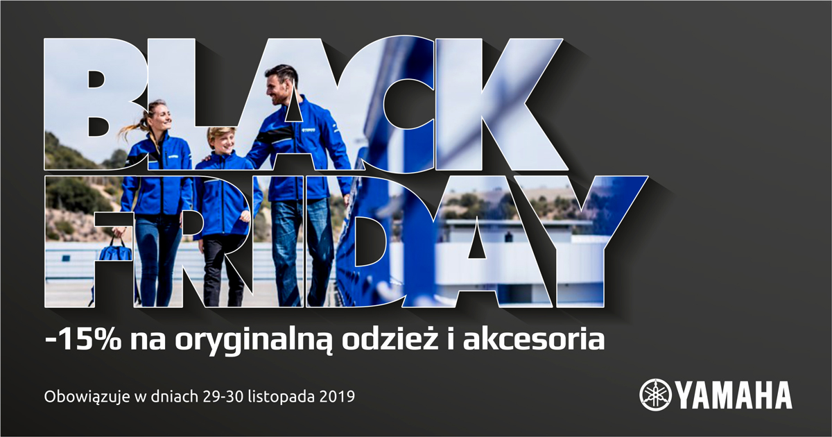 Zniżki w salonach Yamahy na Black Friday